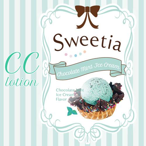 CC lotion sweetie チョコミントアイスクリーム